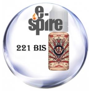 221 Bis : Fruits des bois, herbes coupées et feuille de menthe ,  E-spire e-liquide