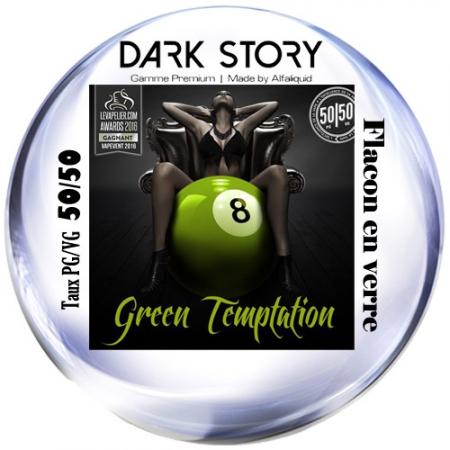 Green Temptation Dark Story 10ml PG/VG 50/50