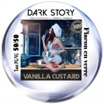 Vanilla Custard Dark Story 10ml PG/VG 50/50 Alfaliquid e-liquide