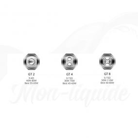 3x Résistances GT Cores de Vaporesso