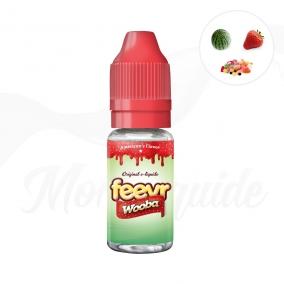 Wooba : bonbon fraise & pastèque. Feevr E-liquide Savourea