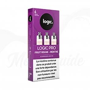 3 Cartouches FRUIT ROUGE MENTHE - Recharges Logic Pro