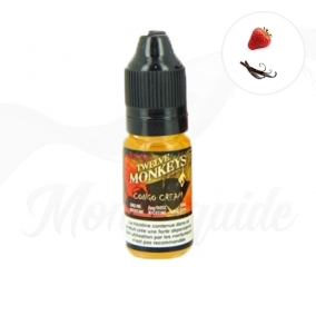 30 ml Congo Cream : Fraise et Vanille - Twelve Monkeys