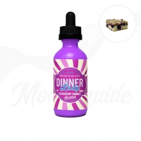 Blackberry Crumble 50 ml Shake N Vape Dinner Lady