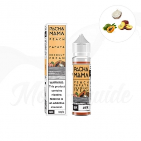 Peach Papaya Coconut Cream 50 ml Shake N Vape Charlie's Chalk Dust