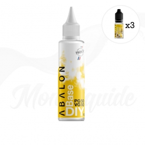 Pack 155ml Abalon DIY 3 mg/ml